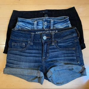 AMERICAN EAGLE • 3 pairs of shorts (2)